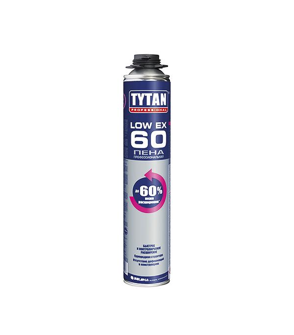 Пена монтажная Tytan O2 Low Expansion 60 профессиональная 750 мл пена монтажная tytan огнестойкая в1 750 мл