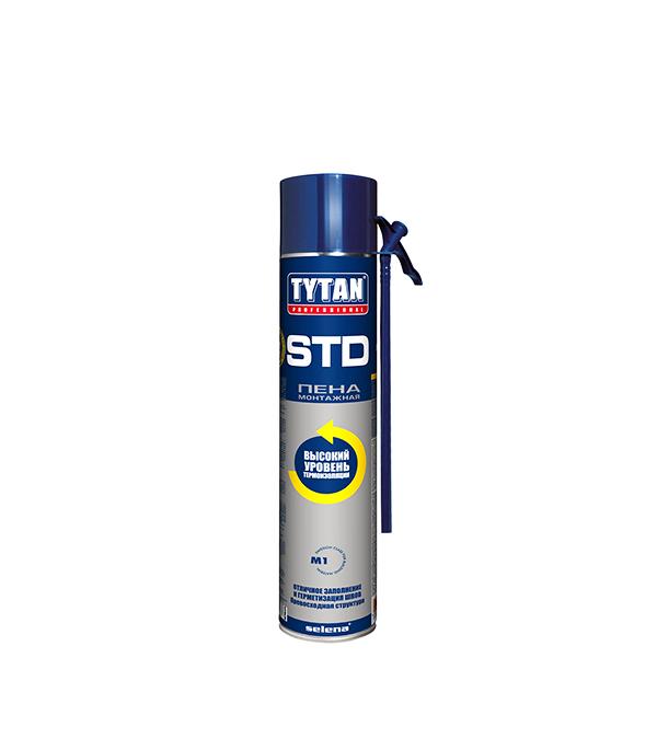 Пена монтажная Tytan O2 STd750 мл пена монтажная mastertex b1 750мл pro огнеупорная