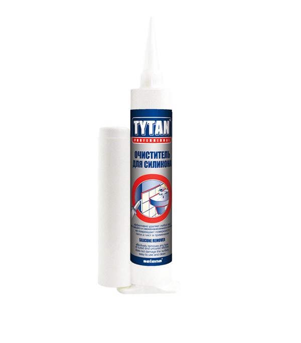 Очиститель для силикона Tytan 80 мл пена монтажная tytan o2 std750 мл