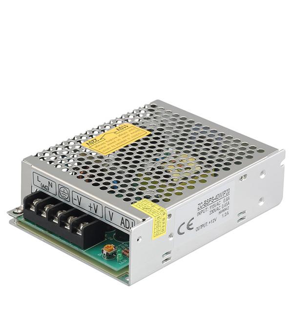 Драйвер светодиодный  40 Вт, 220В/12В, IP20, Jazzway