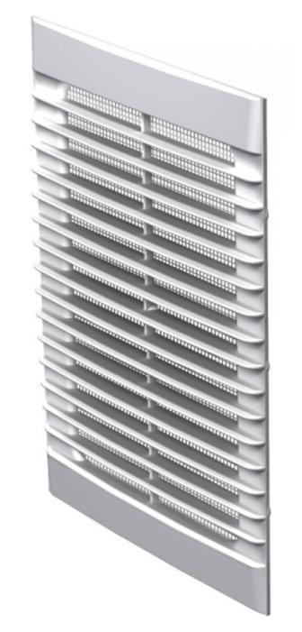 Решетка вентиляционная пластиковая  170х238х13,5 мм Вентс