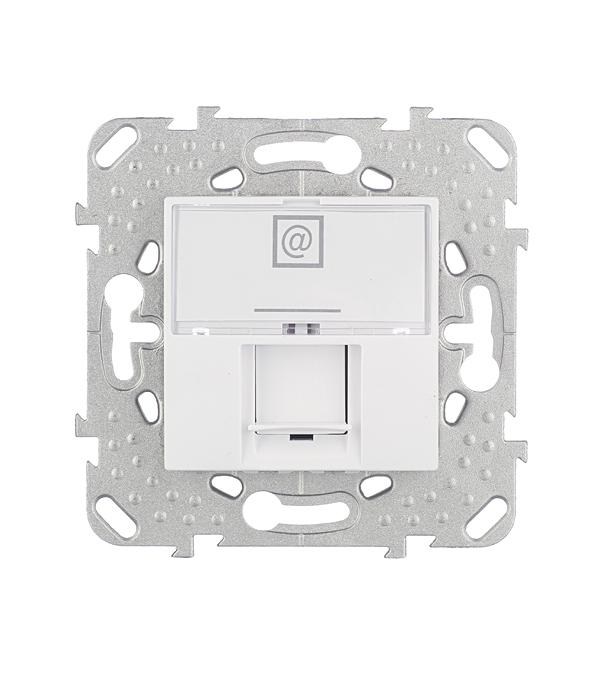 Механизм розетки компьютерной Schneider Electric Unica с/у белый механизм розетки телевизионной с у schneider electric unica белый