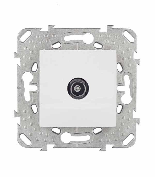 Механизм розетки телевизионной с/у Schneider Electric Unica белый