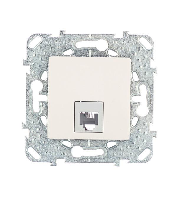 Механизм розетки телефонной с/у Schneider Electric Unica бежевый