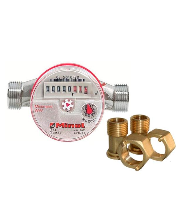 Счетчик для горячей воды Minomess-Zenner 15