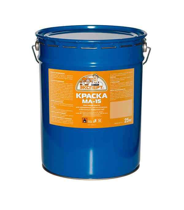 Краска масляная МА-15  голубая  Эксперт 25 кг