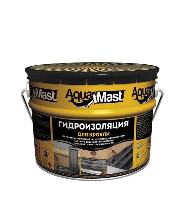 Мастика битумно-резиновая АкваМаст  3 кг