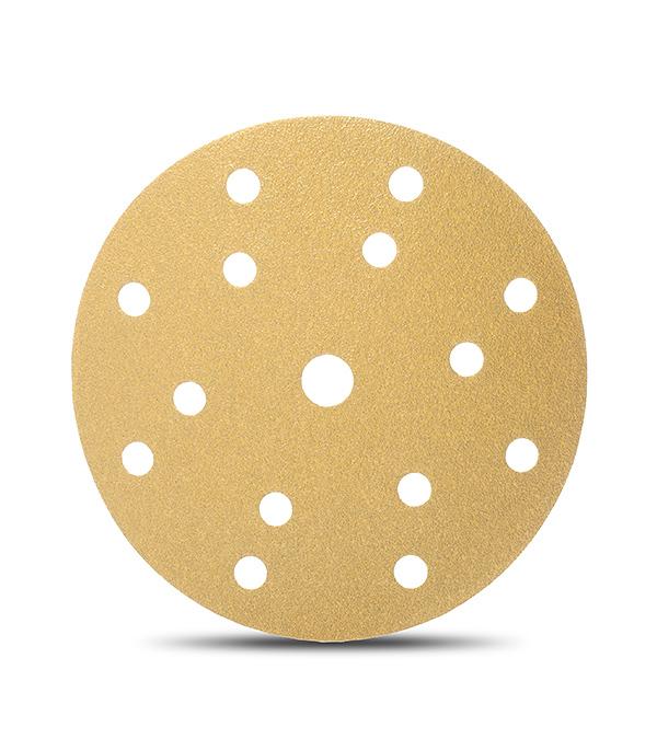 Диск шлифовальный с липучкой Р40 d=150 мм перфорированный (5 шт) Starcke диск шлифовальный с липучкой р40 d 125 мм 5 шт перфорированный bosch профи