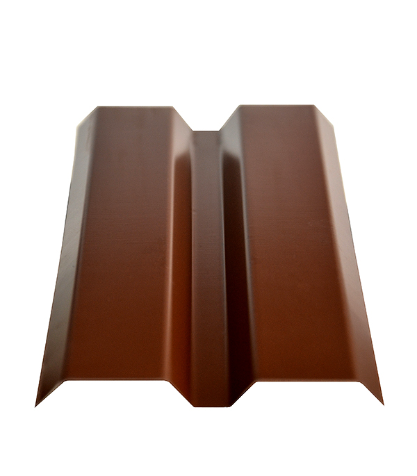 Евроштакетник  87х2000мм, толщина 0,4 мм коричневый