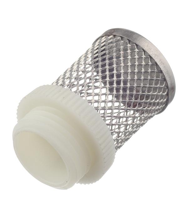 Фильтр сетчатый для обратного клапана 1/2 клапан обратный канализационный наружный 110 мм