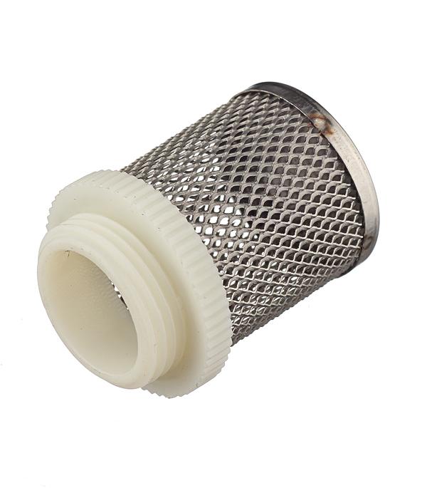 Фильтр сетчатый для обратного клапана 3/4 клапан обратный канализационный наружный 110 мм