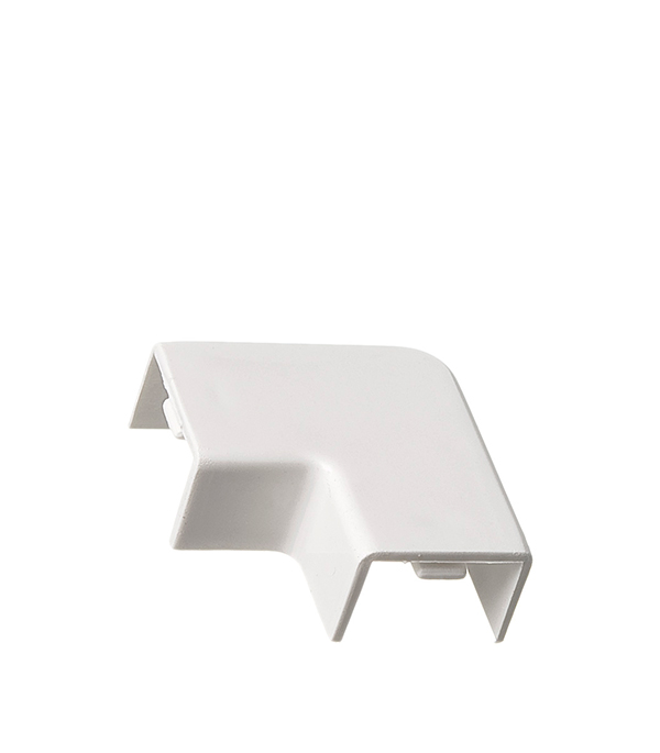 Угол плоский для кабель-канала 15x10 мм белый (4 шт.)