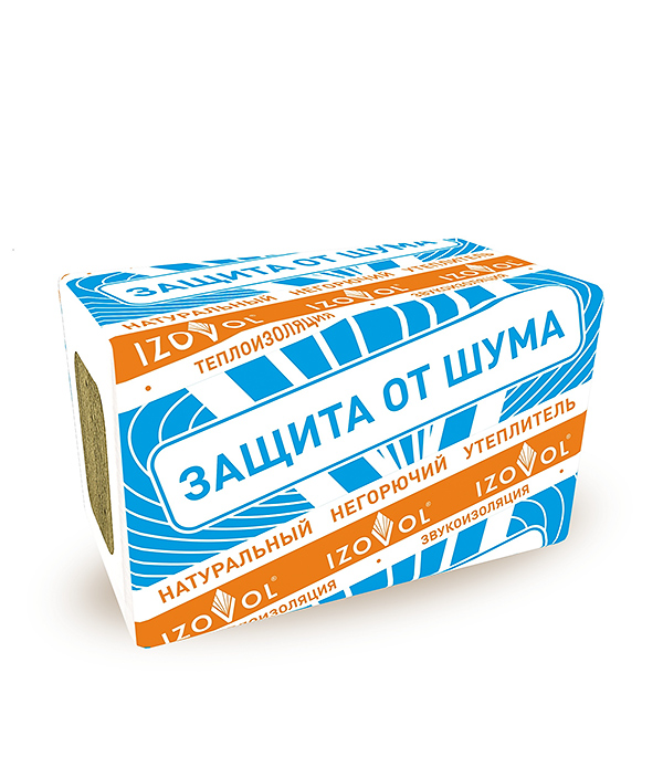 Изовол АКУСТИК 1000х600х50 мм (4,8 кв.м.)