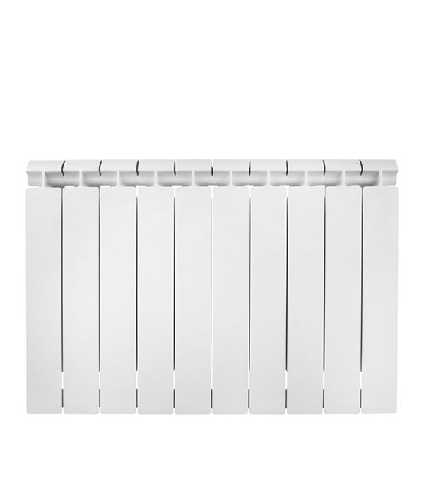 Радиатор биметаллический 1 Global Style Extra 500, 10 секций радиатор отопления global алюминиевые vox r 500 12 секций