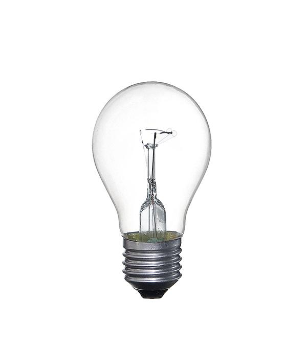 Лампа накаливания E27, 95W, груша, ЛОН