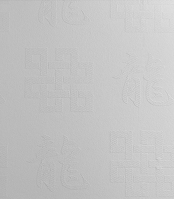 Стеклообои Иероглиф 1х12,5 м Wellton Dеcor