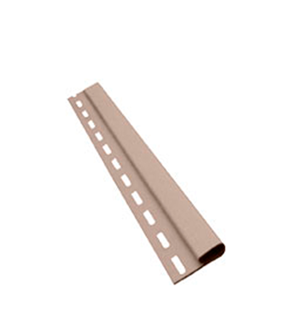 Планка финишная Vinyl-On 3660 мм сандаловое дерево  сайдинг vinyl on софит с центральной перфорацией 3660х305 мм белый