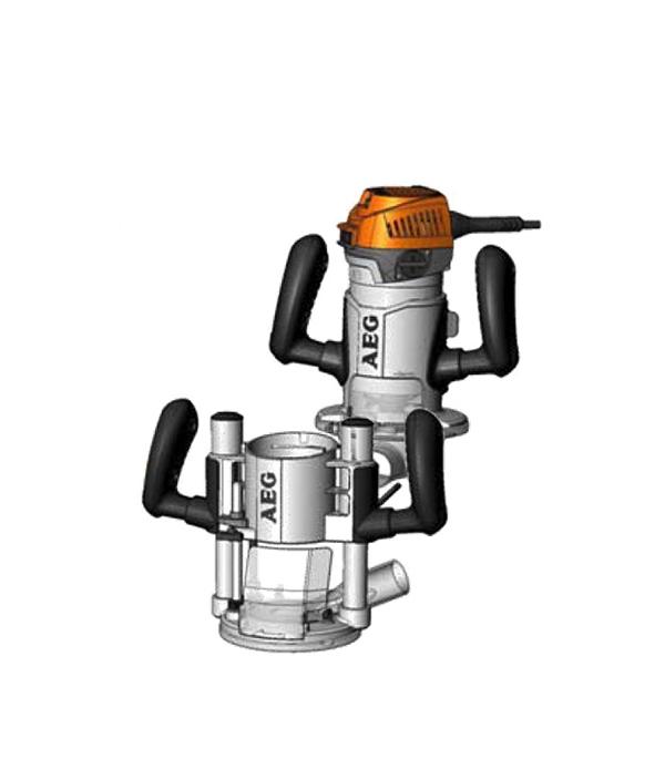 Фрезер AEG MF 1400 KE 1400 Вт цанга 12 мм штроборез aeg mfe 1500