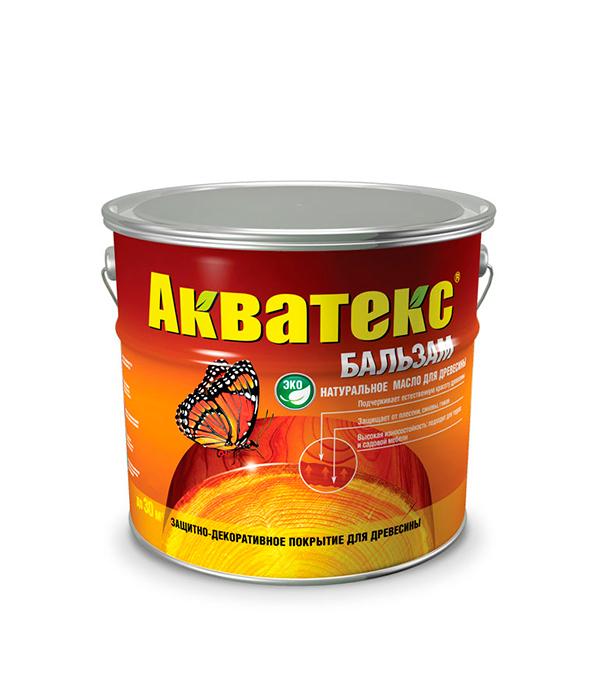 Масло для дерева Акватекс-Бальзам эбеновое дерево 2 л