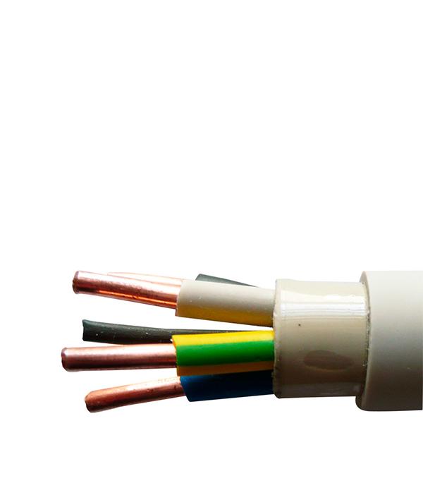 Кабель NYM 5х2.5 Севкабель 100 м кабель nym j 3х6 0 5м гост