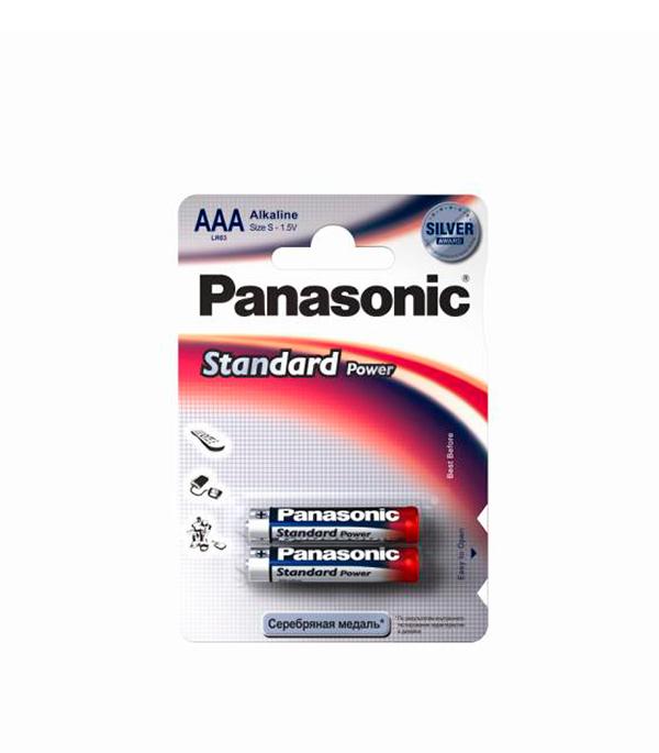 Батарейка AAA (LR03), Panasonic, 2 шт