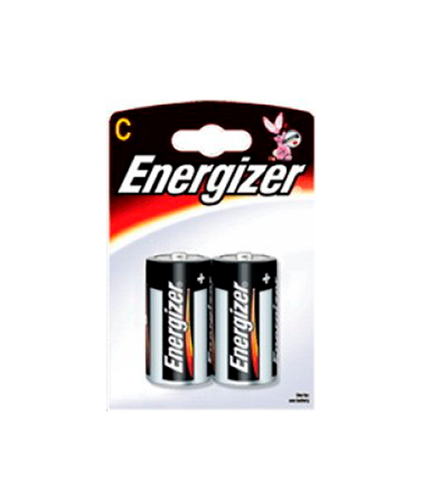 Батарейка C (LR14), Energizer, 2 шт