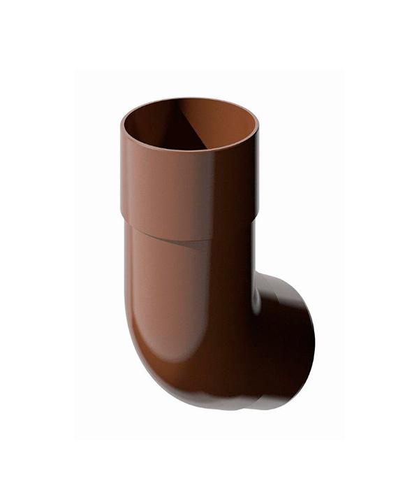 Колено трубы пластиковое d90  мм 135° коричневое Технониколь