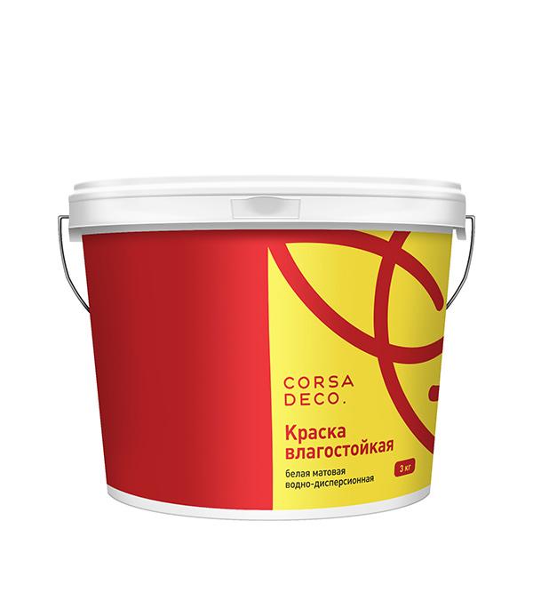 Краска в/д влагостойкая Лира  3 кг
