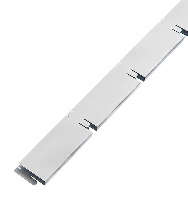 Элемент решетки белый матовый «папа» 10х40х600 мм, ячейка 100х100 мм Грильято