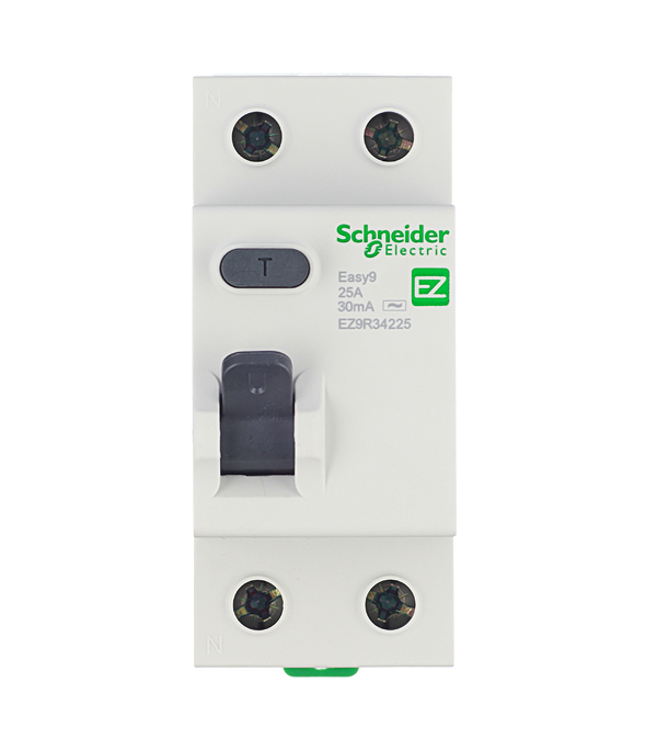 УЗО Easy9 Schneider Electric 2P 25А 30 мА автомат 1p 25а тип с 4 5ка schneider electric easy9