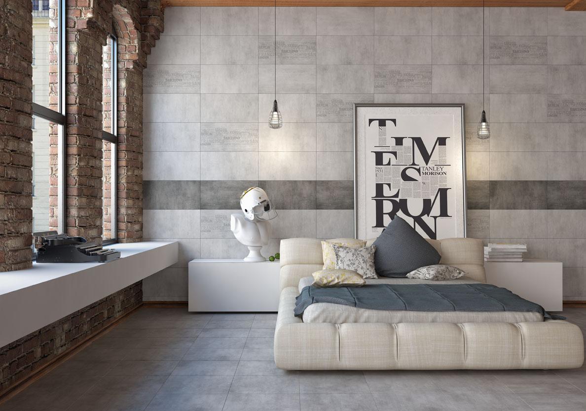Керамогранит 300х600х9 мм Kendal Urban серый/Голден Тайл (8шт=1,44 кв.м)