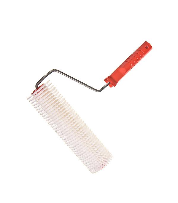 Валик игольчатый 240 мм игла 14 мм с рукояткой валик велюровый hardy 150 мм с рукояткой