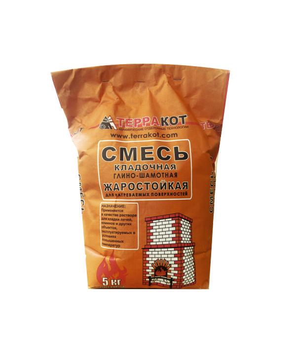 Терракот (смесь кладочная глино-шамотная огнеупорная),  5кг