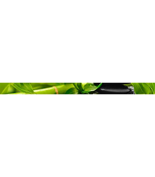 Плитка бордюр 400х30х8 мм Релакс зеленый 494301