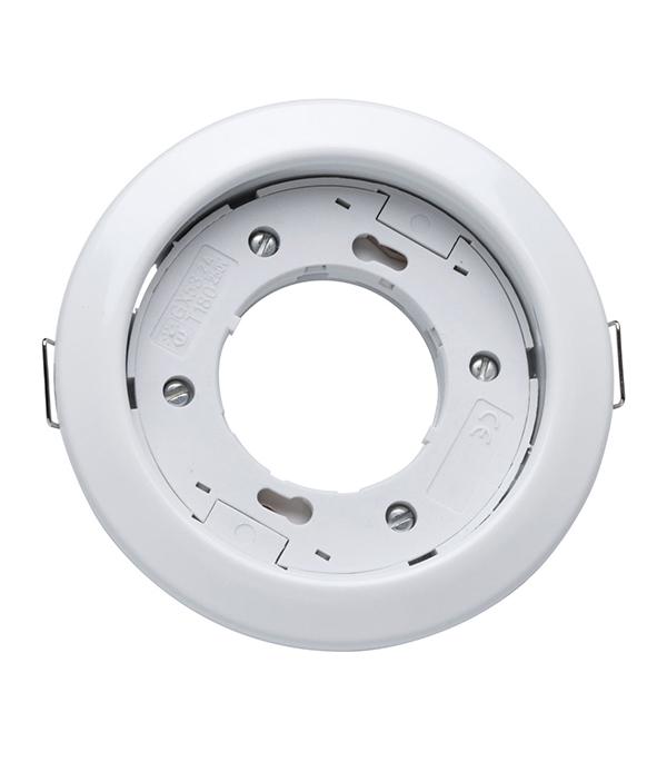 Светильник встраиваемый круглый белый 1хGX53 (220В), IP20