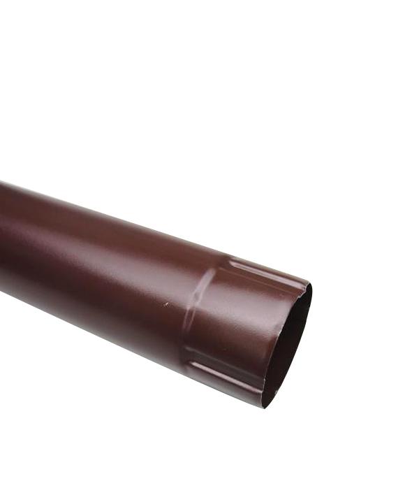 Водосточная труба Grand Line d90 мм коричневая 1 м металлическая лоток металлический перфорированный 300х50 мм 3 м дкс