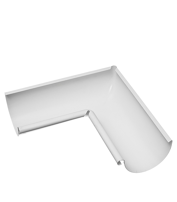 Угол желоба внутренний Grand Line 125/90° белый металлический лоток металлический перфорированный 300х50 мм 3 м дкс
