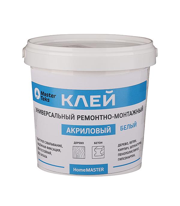 Клей акриловый ремонтно-монтажный Мастертекс 1,7 кг белый