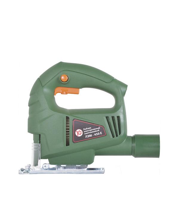 Лобзик Калибр ЛЭМ-450Е пилки для лобзика по ламинату для прямых пропилов практика t101aif 3 30 мм 2 шт
