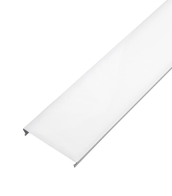 Реечный потолок для ванной комнаты 1,7х1,7 м (комплект) белый жемчуг