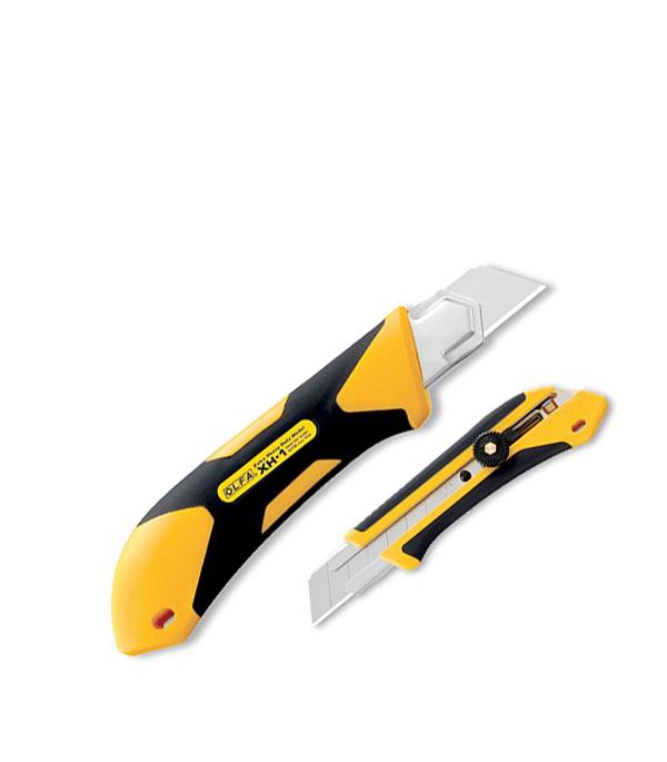 Нож с ломающимся лезвием Olfa Профи 25 мм стальной корпус olfa