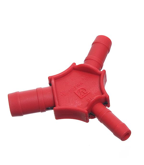 Калибратор для металлопластиковых труб Valtec d16. 20. 26 мм пружина кондуктор внутренняя для изгиба металлопластиковых труб 20 мм valtec