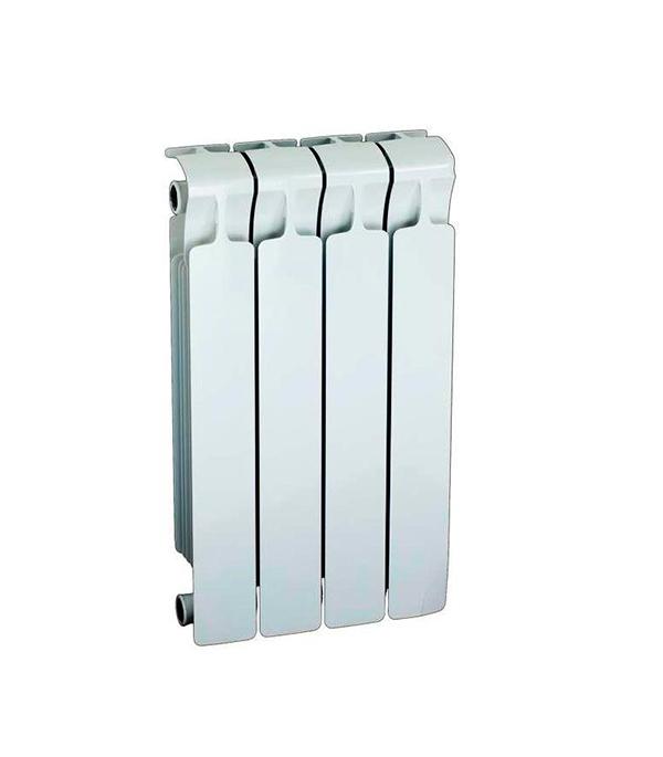 Радиатор биметаллический 3/4 Rifar Monolit 500,  4 секции купить чугунный радиатор отопления 3 секции