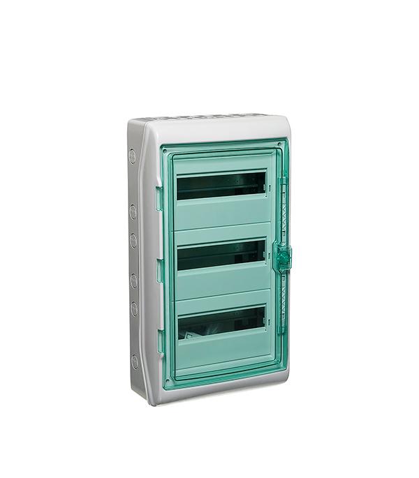 Щиток навесной Schneider Electric Kaedra для 36 модулей пластиковый IP65 шкаф электрический навесной schneider electric 600мм 21 модуль 8107