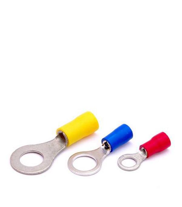 Наконечник кольцевой для провода 0,5-1,5 кв.мм, d=4 мм (100 шт.) ИЭК