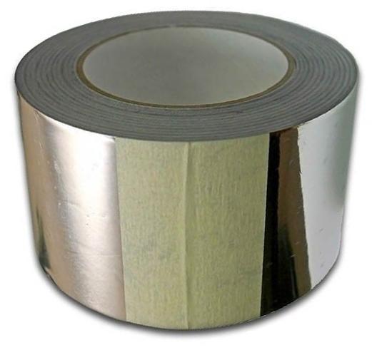 Лента монтажная алюминиевая 50ммх50м