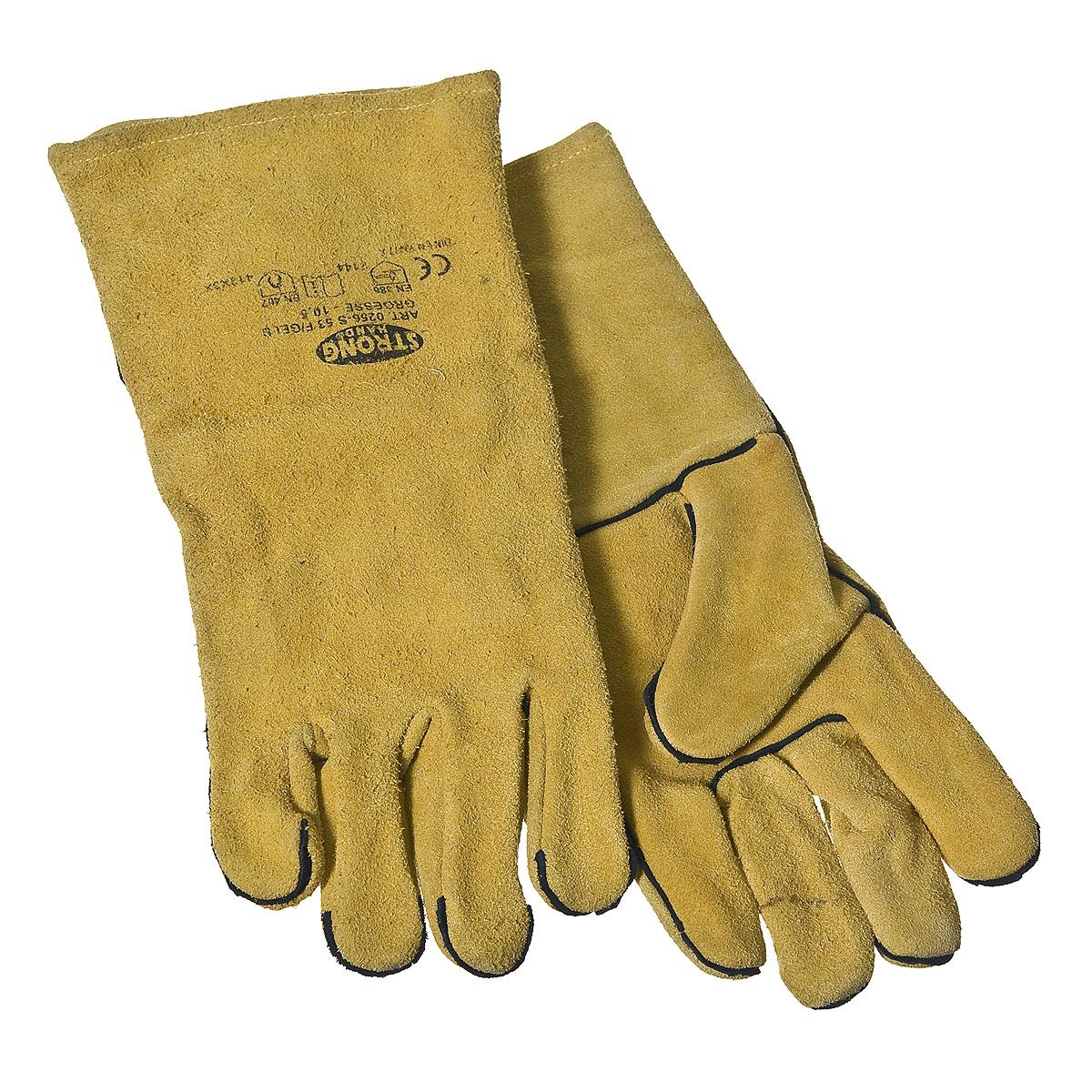 Перчатки для сварщика, краги KWB Профи