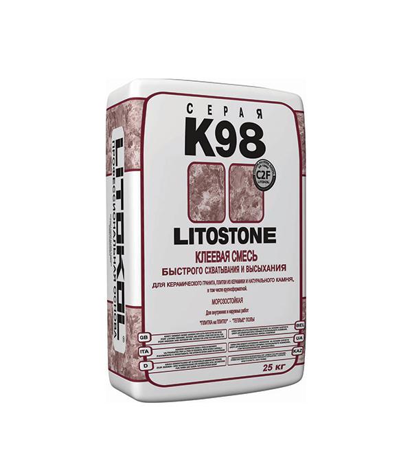 Литостоун К98 (клей для камня быстротвердеющий), 25кг