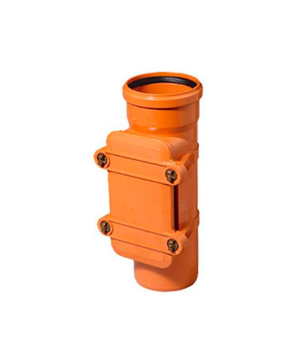 Ревизия наружная Ostendorf 110 мм однораструбная клапан обратный канализационный наружный 110 мм