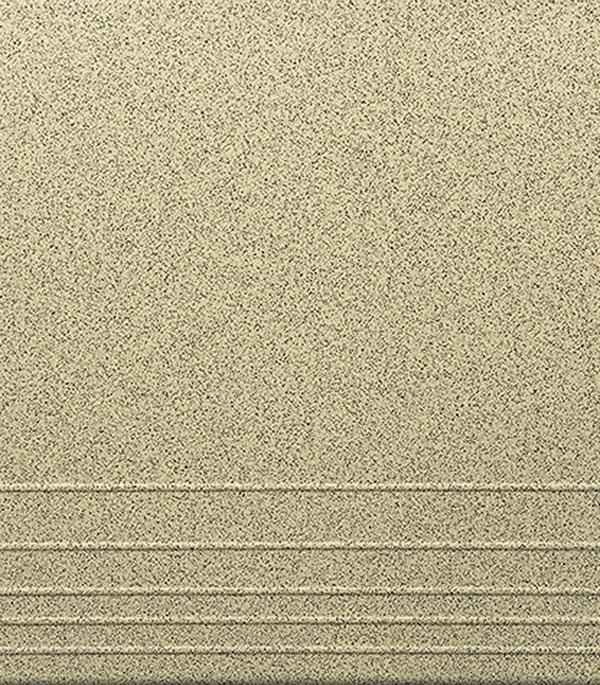 Керамогранит 330х330х8 мм Грес 0208 СТУПЕНИ темно-серый/ЕвроКерамика (9 шт=1кв.м)